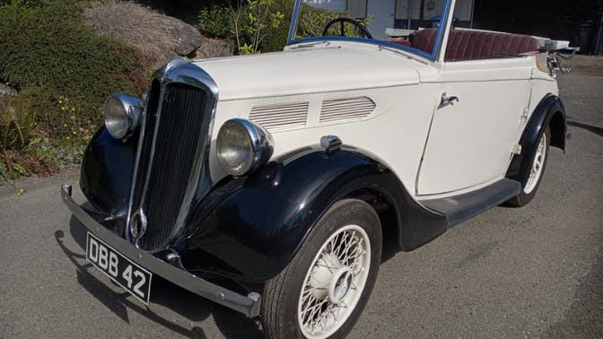 1936 Standard Ten Drophead Coupe Project