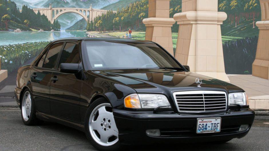 1999 Mercedes Benz C43 Amg Vin Wdbha33g2xf823545 Classic Com