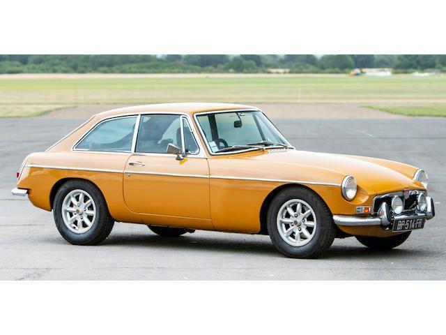 1974 Mgb GT Coupé