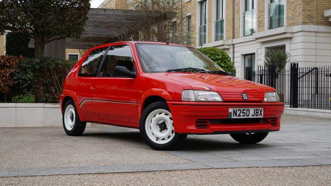 1996 Peugeot 106 Rallye S1