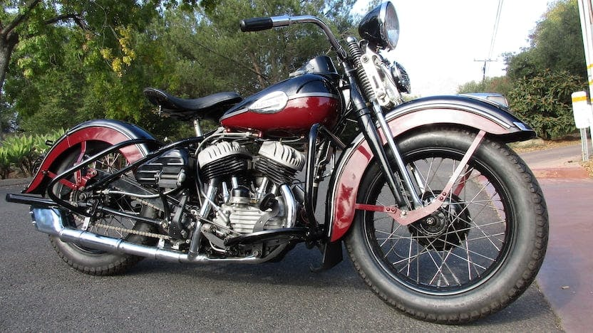 1946 Harley-Davidson Wl