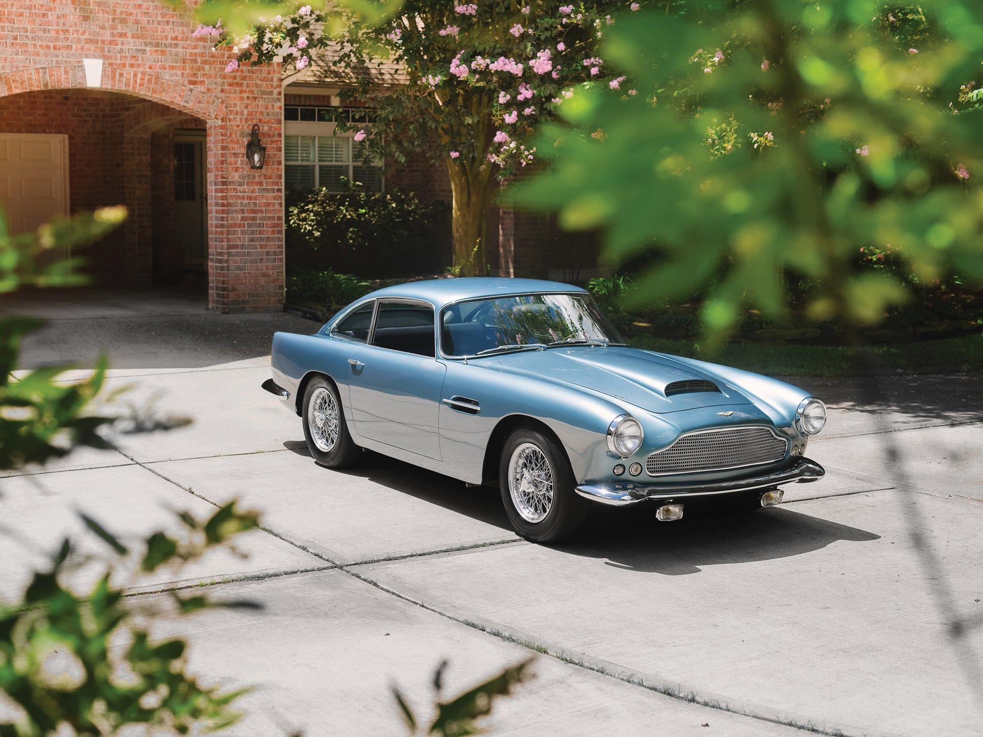 1961 Aston Martin Db4 Series Ii Vin Db4 580 L Classic Com