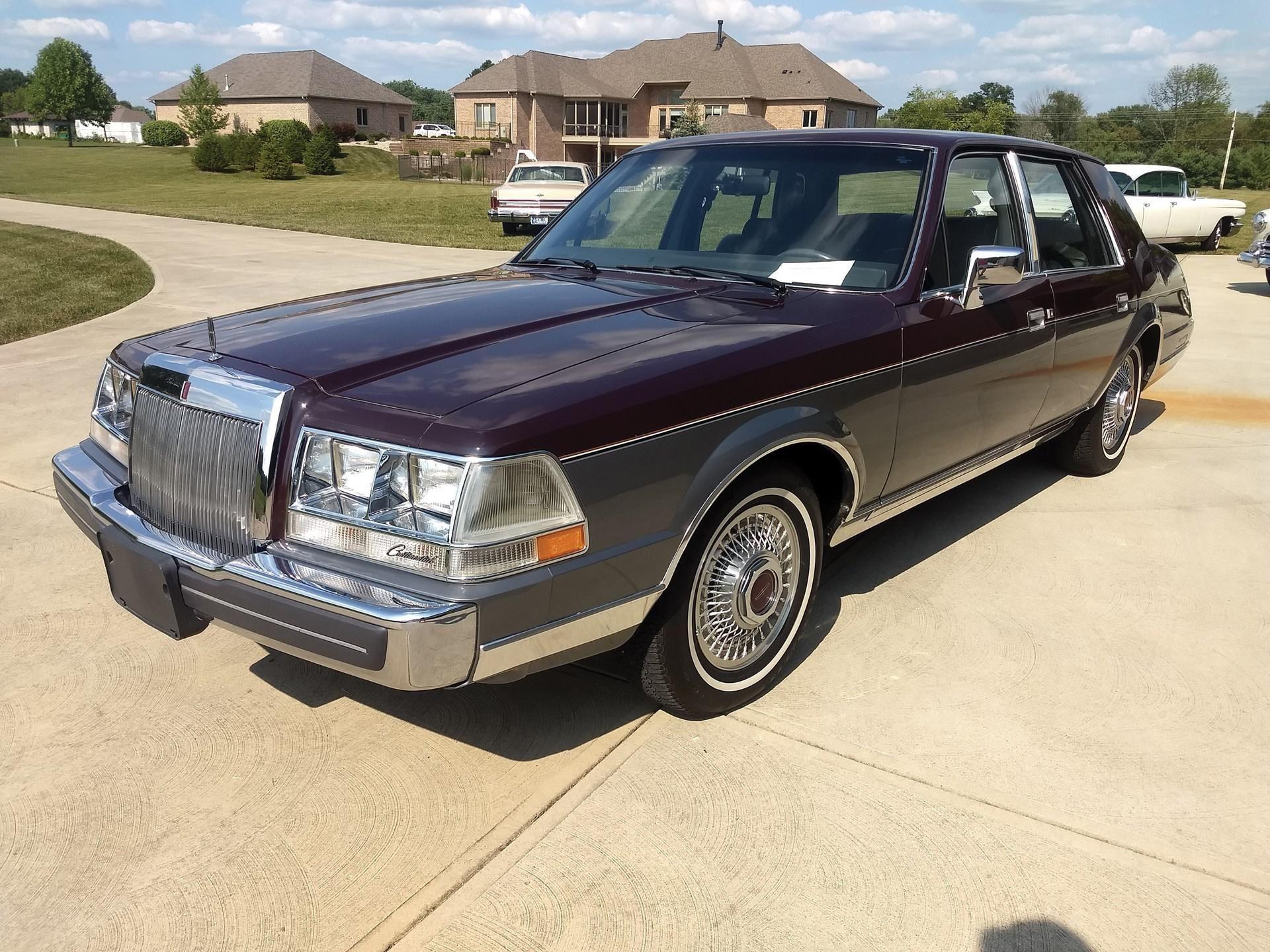 1984 Lincoln Continental Valentino
