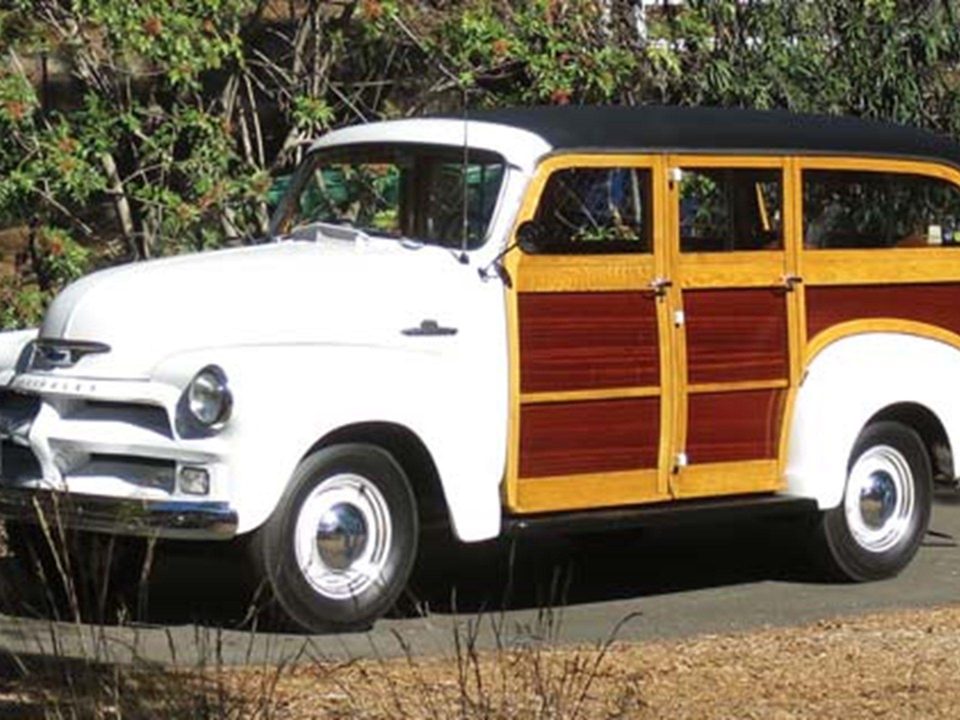 1955 Chevrolet Model 3112 Carryall Wagon -