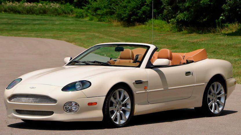 2003 Aston Martin Db7 Vantage Convertible Vin Scfab42313k403802 Classic Com