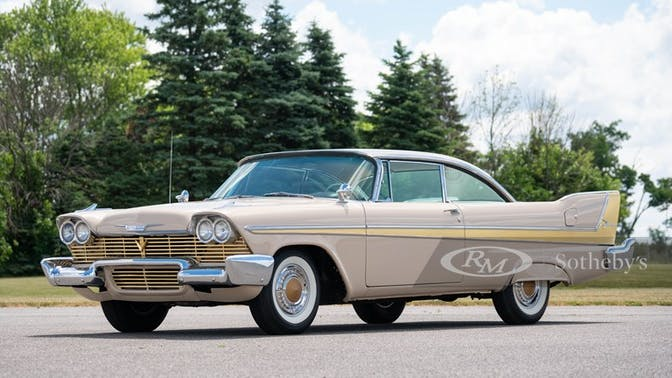 1958 Plymouth Fury Coupe