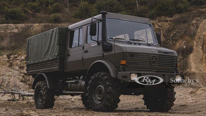 1998 Mercedes-Benz Unimog U1550L