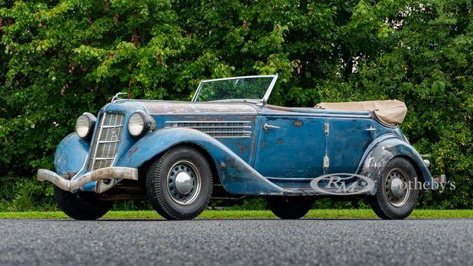 1935 Auburn 653 Phaeton