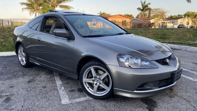 2005 Acura Rsx Type S 6-Speed