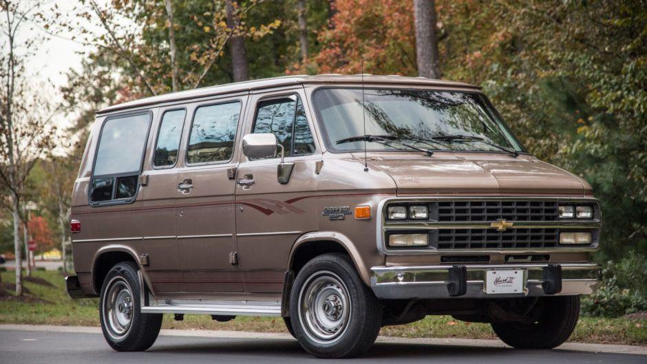 1995 Chevrolet G20 Mark III Conversion Van