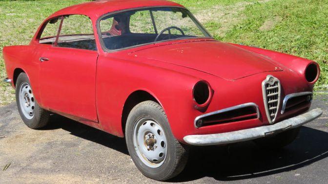 1958 Alfa Romeo Giulietta Sprint 750B Project