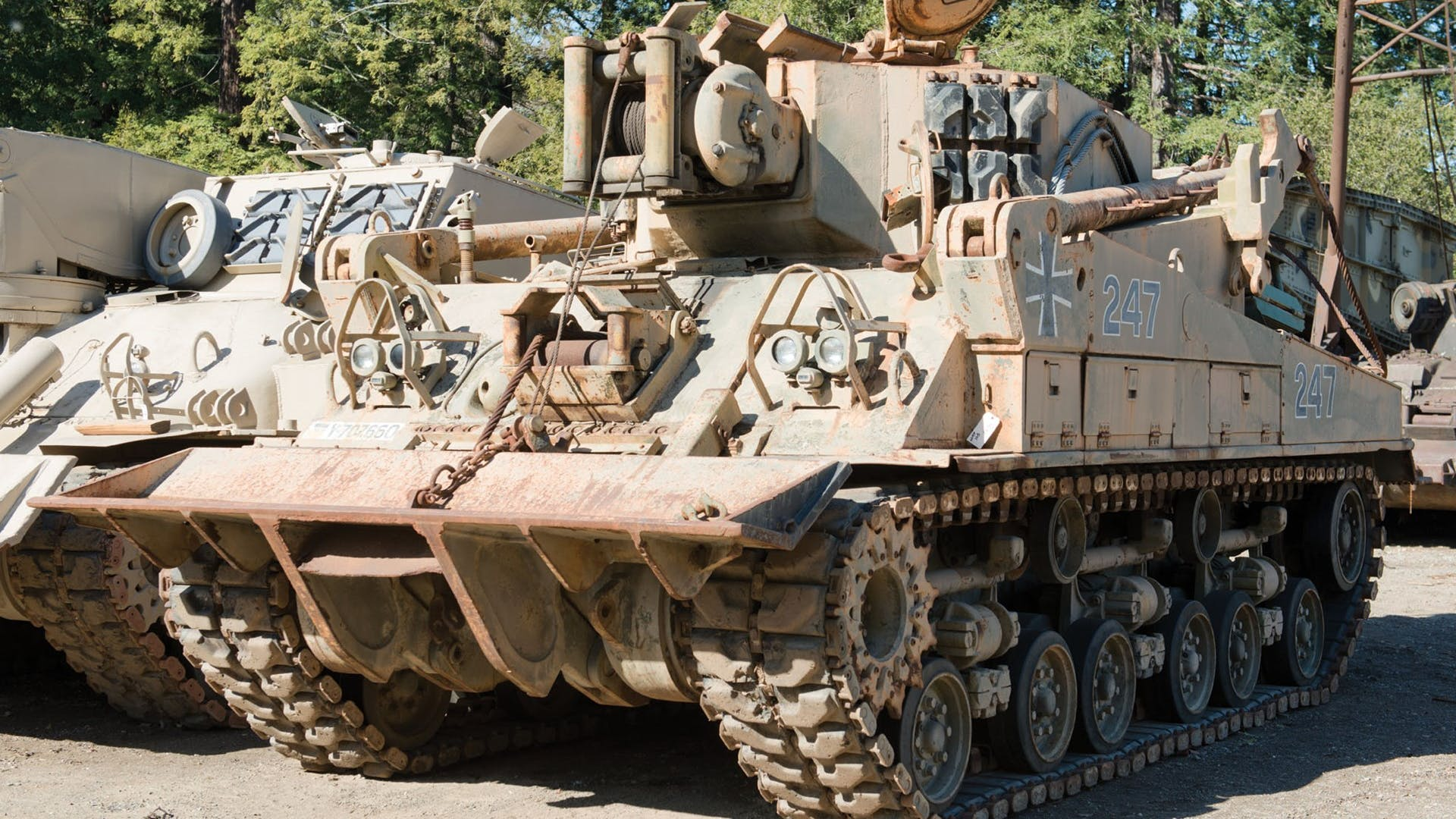 M74 Armored Recovery Vehicle (Arv)