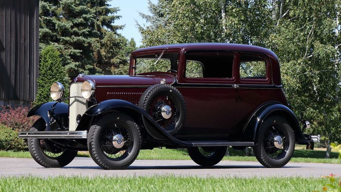 1932 Ford Deluxe Victoria