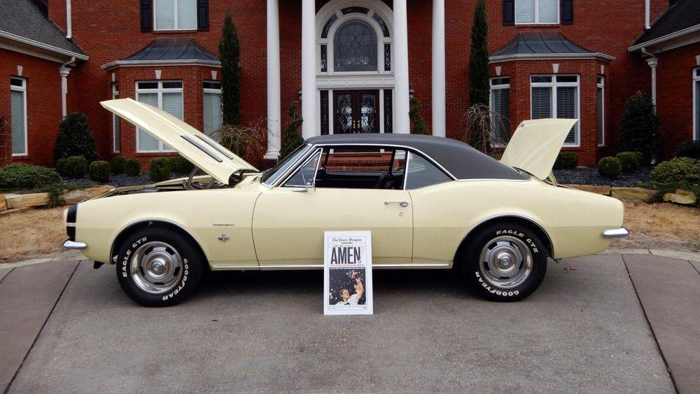 Drew Brees' 1967 Chevrolet Camaro